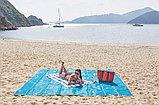 Коврик для пляжа самочищающийся от песка, фото 2