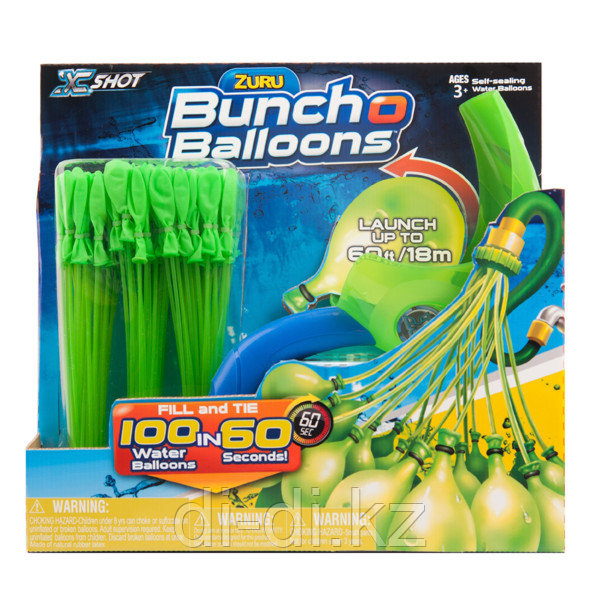 Игровой набор Bunch O Balloons с пусковым устройством (100 шаров) - фото 3