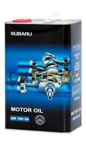 Моторное масло CHEMPIOIL SM for SUBARU 5W30 1 литр