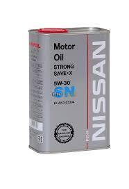 Моторное масло CHEMPIOIL SN for NISSAN Strong SAVE-X 5W30 1 литр