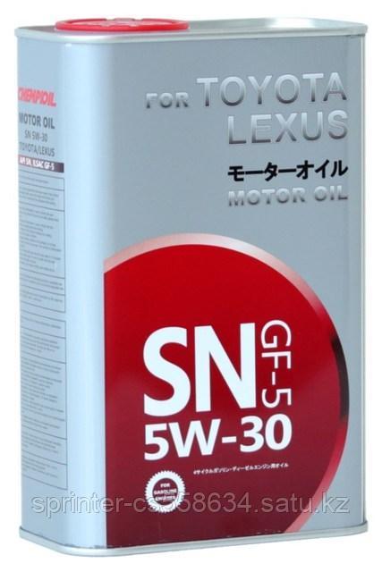 Моторное масло CHEMPIOIL SN for TOYOTA LEXUS 5W30 1 литр