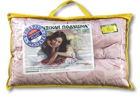 """Подушка """"Орто"""" М1 35х50 в футляре ортопедическая"""
