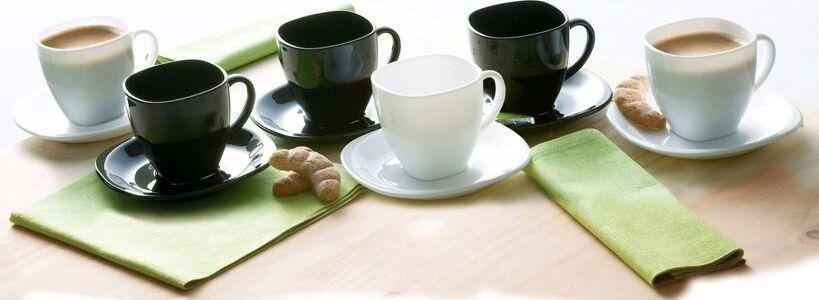 Чайный Сервиз Luminarc Carine Black&White 12пр. на 6 персон