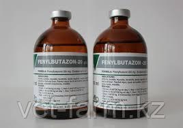 Фенилбутазон-20 раствор для инъекций, фл. 100 мл