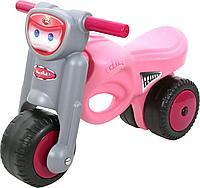 """Каталка -мотоцикл """"Мини-мото"""",розовая, фото 1"""