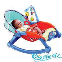 """Шезлонг - кресло - качалка """"Deluxe 2в1"""" Fisher price"""