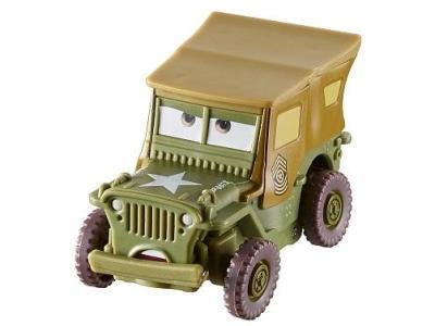Модель машины Mattel Тачки Подвижные герои Sarge DKV43