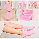 Многоразовые гелевые SPA-носочки и перчатки, фото 3