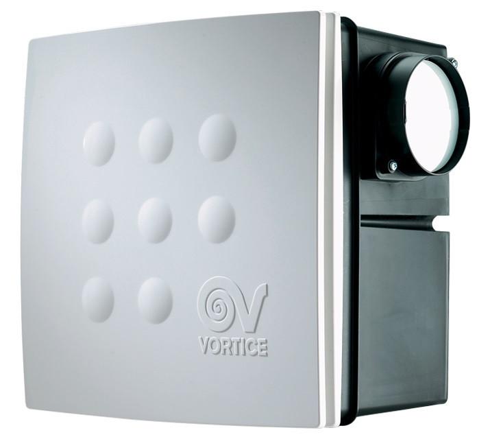 Центробежный вытяжный вентилято QUADRO MEDIO I Т с таймером