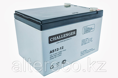 Аккумулятор Challenger AS12-12 (12В, 12Ач), фото 2