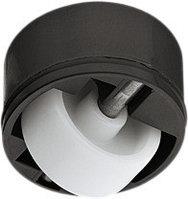 Стационарный ролик черный 36 мм, фото 1