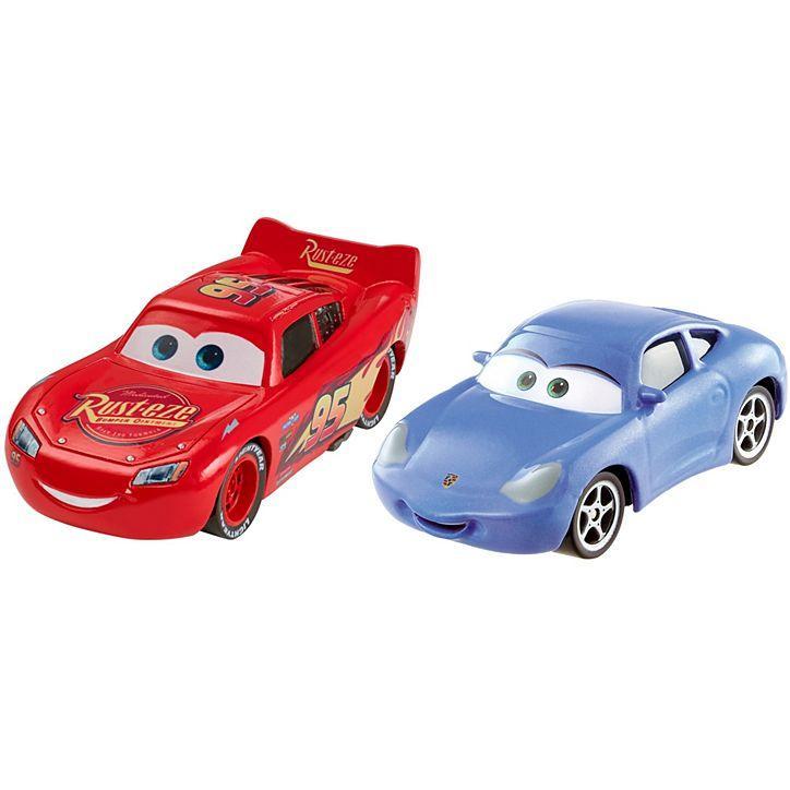 Машинки Cars 3 Молния МакКуин и Салли (2 шт.)