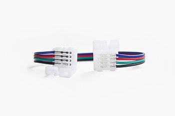 Двухсторонний коннектор для светодиодной ленты RGB