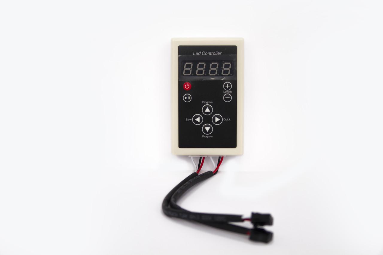 Контроллер для видеодиодов с программами с блоком питания