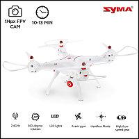 Квадрокоптер Syma X8SW,  c видеокамерой и прямой трасляцией