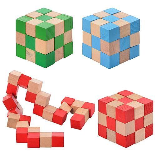 "Головоломка ""Кубик змейка"""