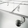 Шинопровод, трек для направленного потолочного светильника. 2х-линейный, 3 метра, фото 2