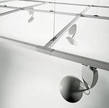 Шинопровод, трек для направленного потолочного светильника. 2х-линейный, 2 метра, фото 2