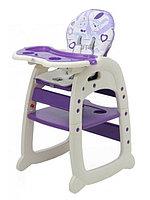 Стульчик для кормления Polini 460 (фиолетовый), фото 1