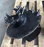 Бур конусный Б1-020406.360.00 скальный под квадрат 62 мм