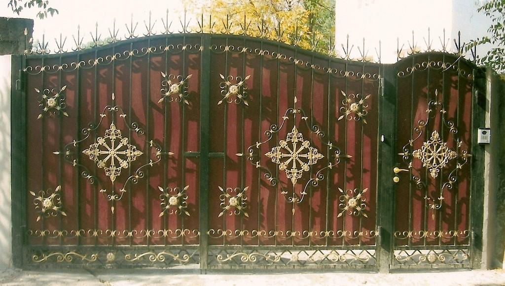 Уличные ворота 1