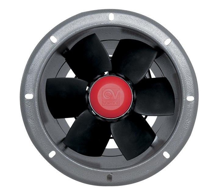 Осевые промышленные вентиляторы среднего дав ления серии MPС-Е 254 Т