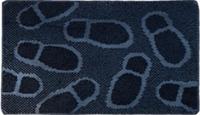 Коврик резиновый Следы Аквалиния 45*75 (KGRM 023)