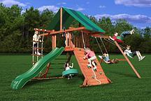 Игровой комплекс с матерчатой крышей Playnation «Крепость свободы»