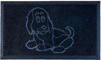 Коврик резиновый Собака Аквалиния 45*75 (KGRM 048)