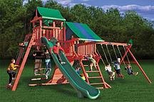 Игровая площадка с двумя спусками Playnation «Королевство Делюкс»