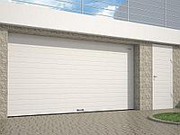 Гаражные секционные ворота, фото 1