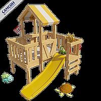 Детская игровая кровать-чердак Самсон Скуби