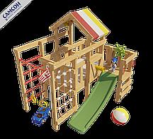 Детская игровая кровать-чердак Самсон Соник