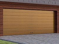 Гаражные секционные ворота с торсионным механизмом, фото 1