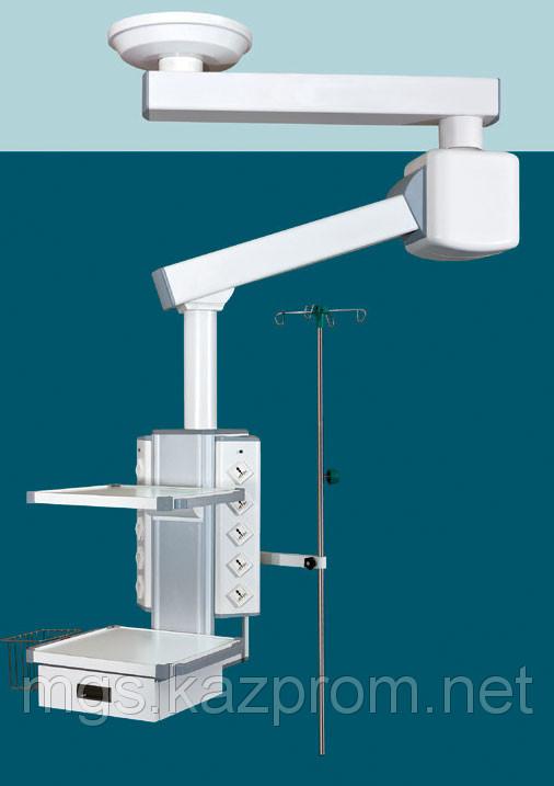 Консоль операционная потолочная двухплечевая с сервоприводом мод. TPE-2
