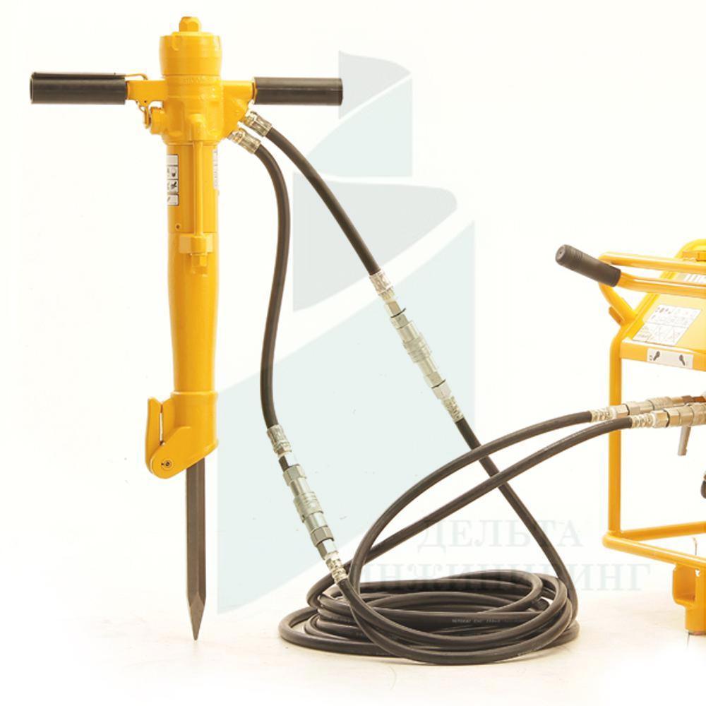 Гидромолоток отбойный Caiman BH163, ручной (кирка в комплекте)