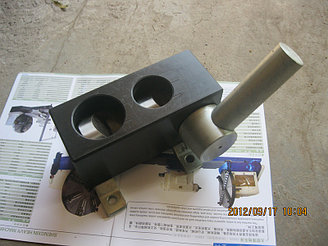 Инструмент для вырубки седловин на торцах труб - KPN 3