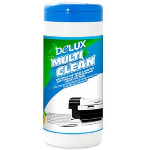 Чистящие салфетки Delux Multi Clean 100