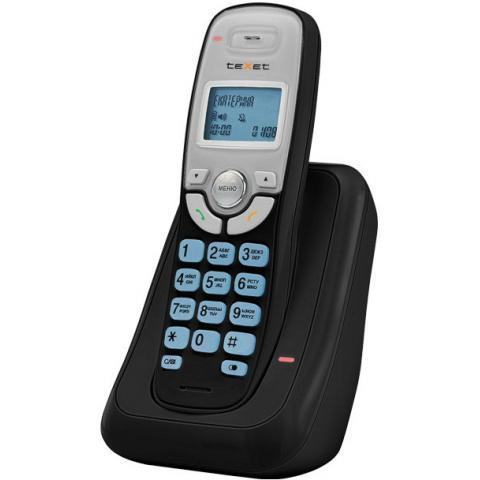 Телефон teXet TX-D6905А Черный