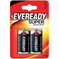 Элемент питания Eveready R14-C SHD 2 штуки в блистере