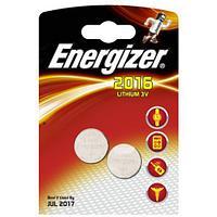 Элемент питания Energizer CR2016 2 штуки в блистере
