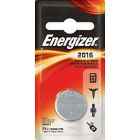 Элемент питания Energizer CR2016 1 штука в блистере