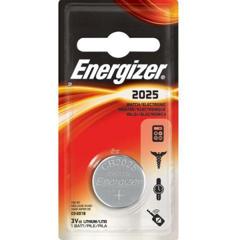 Элемент питания Energizer CR2025 1 штука в блистере