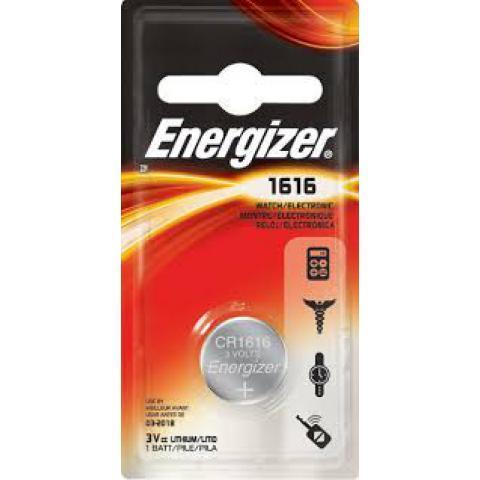 Элемент питания Energizer CR1616 1 штука в блистере