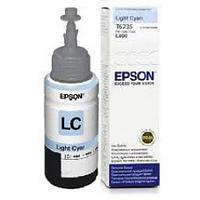 Чернила Epson C13T67354A L800/1800/810/850 светло-голубой