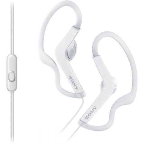 Наушники вкладыши Sony MDR-AS210 Белые
