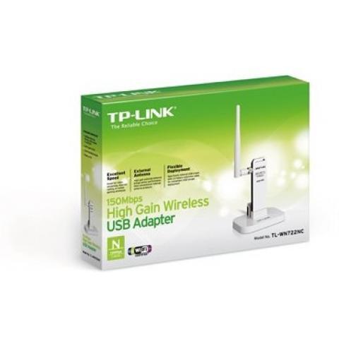 Адаптер USB TP-Link TL-WN722N Беспроводной сетевой