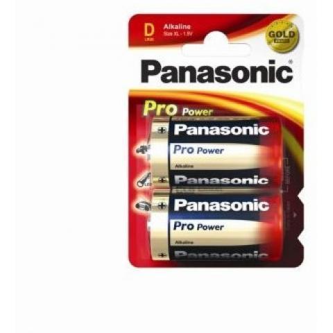 Батарейки Panasonic Pro Power LR20PPG/2BP тип D