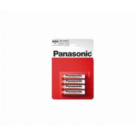 Солевые батарейки Panasonic R03RZ/4BP Тип ААА