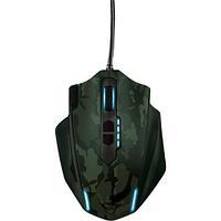 Игровая мышь TRUST GXT155C GAMING MSE-CAMO зеленая